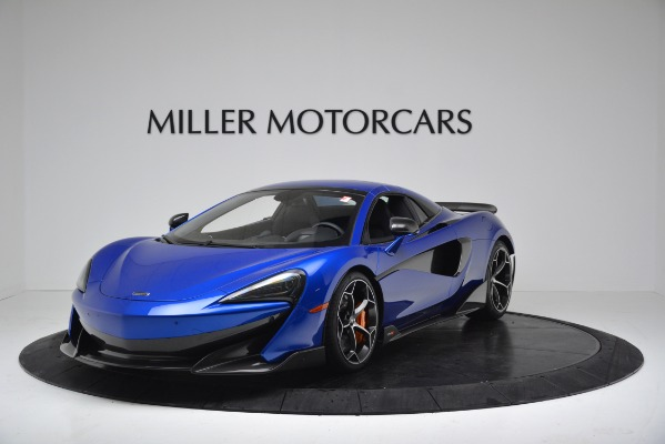 New 2020 McLaren 600LT SPIDER Convertible for sale Sold at Aston Martin of Greenwich in Greenwich CT 06830 12