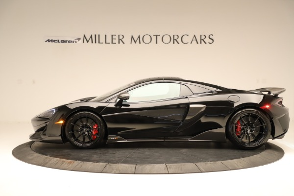 Used 2020 McLaren 600LT Spider for sale $249,900 at Aston Martin of Greenwich in Greenwich CT 06830 10