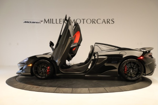 Used 2020 McLaren 600LT Spider for sale $249,900 at Aston Martin of Greenwich in Greenwich CT 06830 18
