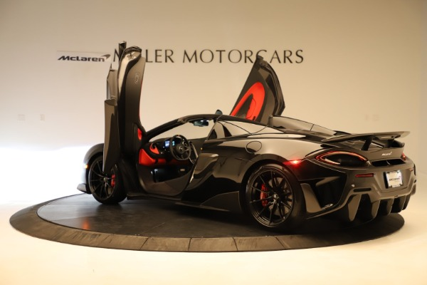 Used 2020 McLaren 600LT Spider for sale $249,900 at Aston Martin of Greenwich in Greenwich CT 06830 19