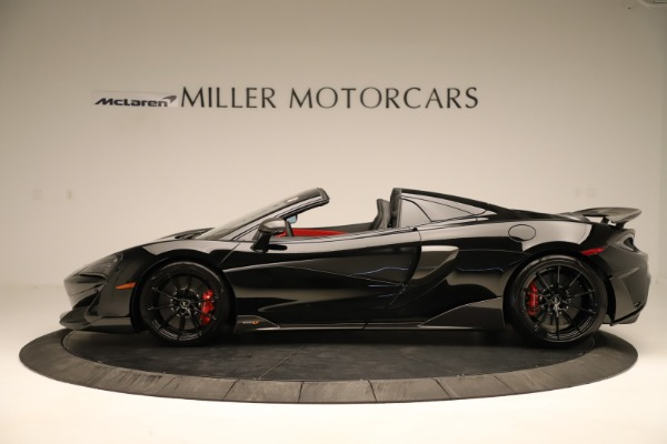 Used 2020 McLaren 600LT Spider for sale $249,900 at Aston Martin of Greenwich in Greenwich CT 06830 2