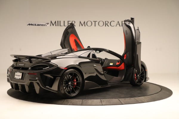Used 2020 McLaren 600LT Spider for sale $249,900 at Aston Martin of Greenwich in Greenwich CT 06830 21
