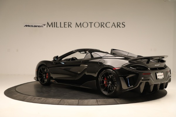 Used 2020 McLaren 600LT Spider for sale $249,900 at Aston Martin of Greenwich in Greenwich CT 06830 3