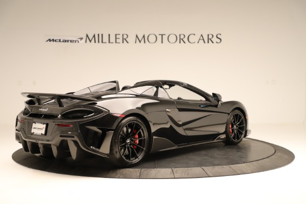 Used 2020 McLaren 600LT Spider for sale $249,900 at Aston Martin of Greenwich in Greenwich CT 06830 5