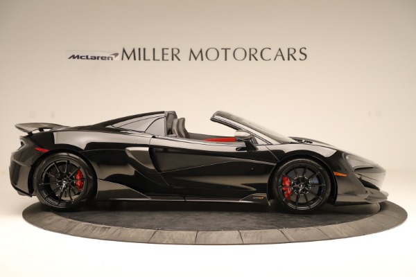 Used 2020 McLaren 600LT Spider for sale $249,900 at Aston Martin of Greenwich in Greenwich CT 06830 6