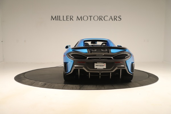 New 2020 McLaren 600LT SPIDER Convertible for sale Sold at Aston Martin of Greenwich in Greenwich CT 06830 13