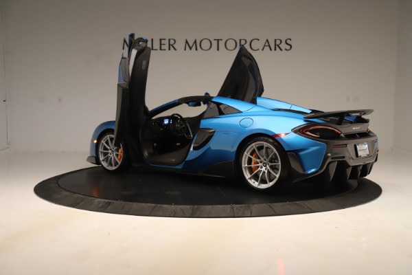New 2020 McLaren 600LT SPIDER Convertible for sale Sold at Aston Martin of Greenwich in Greenwich CT 06830 20