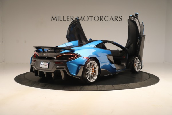 New 2020 McLaren 600LT SPIDER Convertible for sale Sold at Aston Martin of Greenwich in Greenwich CT 06830 22