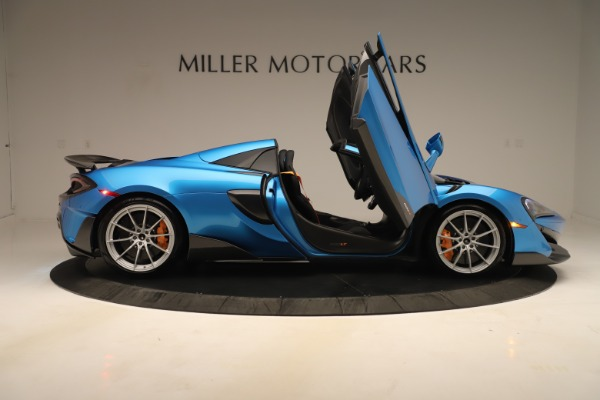 New 2020 McLaren 600LT SPIDER Convertible for sale Sold at Aston Martin of Greenwich in Greenwich CT 06830 23