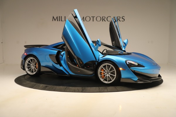 New 2020 McLaren 600LT SPIDER Convertible for sale Sold at Aston Martin of Greenwich in Greenwich CT 06830 24