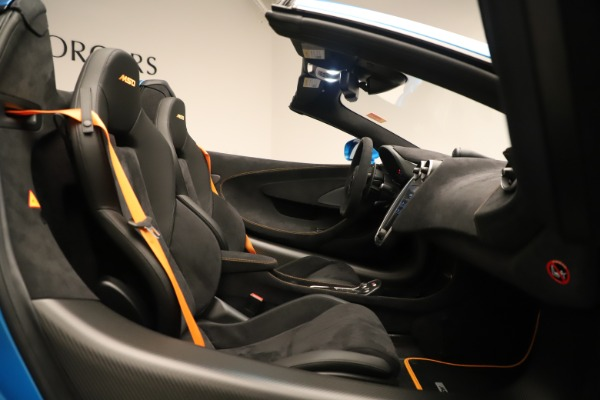 New 2020 McLaren 600LT SPIDER Convertible for sale Sold at Aston Martin of Greenwich in Greenwich CT 06830 25