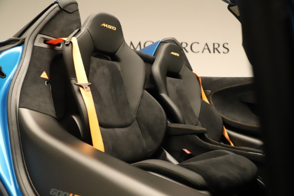 New 2020 McLaren 600LT SPIDER Convertible for sale Sold at Aston Martin of Greenwich in Greenwich CT 06830 26