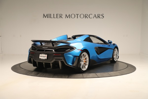 New 2020 McLaren 600LT SPIDER Convertible for sale Sold at Aston Martin of Greenwich in Greenwich CT 06830 5