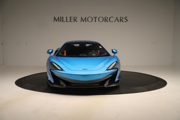 New 2020 McLaren 600LT SPIDER Convertible for sale Sold at Aston Martin of Greenwich in Greenwich CT 06830 9