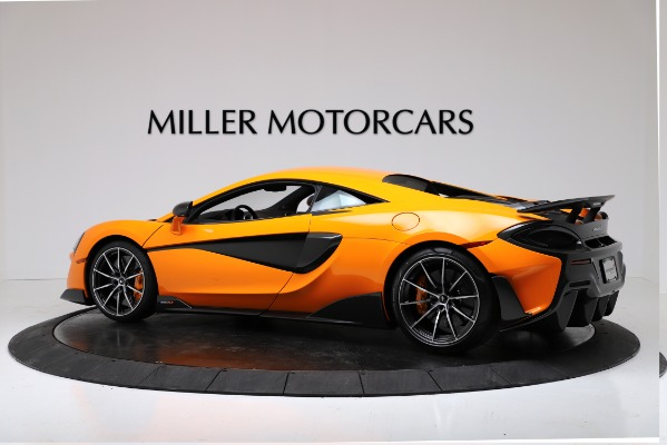 New 2019 McLaren 600LT Coupe for sale Call for price at Aston Martin of Greenwich in Greenwich CT 06830 4