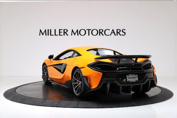 New 2019 McLaren 600LT Coupe for sale Call for price at Aston Martin of Greenwich in Greenwich CT 06830 5