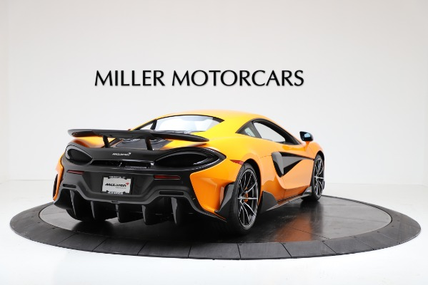 New 2019 McLaren 600LT Coupe for sale Call for price at Aston Martin of Greenwich in Greenwich CT 06830 7