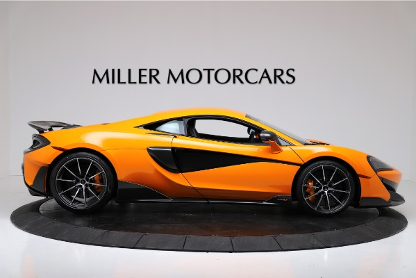 New 2019 McLaren 600LT Coupe for sale Call for price at Aston Martin of Greenwich in Greenwich CT 06830 9