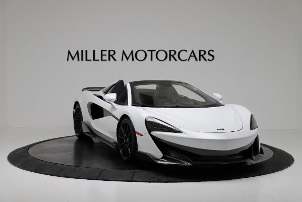 New 2020 McLaren 600LT Convertible for sale Sold at Aston Martin of Greenwich in Greenwich CT 06830 11