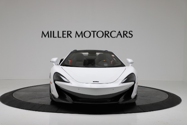 New 2020 McLaren 600LT Convertible for sale Sold at Aston Martin of Greenwich in Greenwich CT 06830 12
