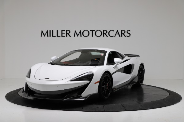 New 2020 McLaren 600LT Convertible for sale Sold at Aston Martin of Greenwich in Greenwich CT 06830 13