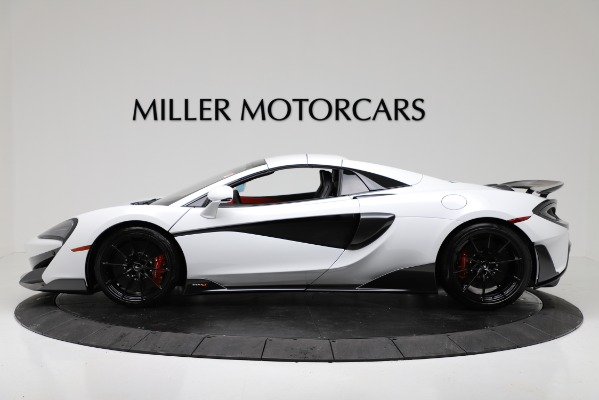 New 2020 McLaren 600LT Convertible for sale Sold at Aston Martin of Greenwich in Greenwich CT 06830 14