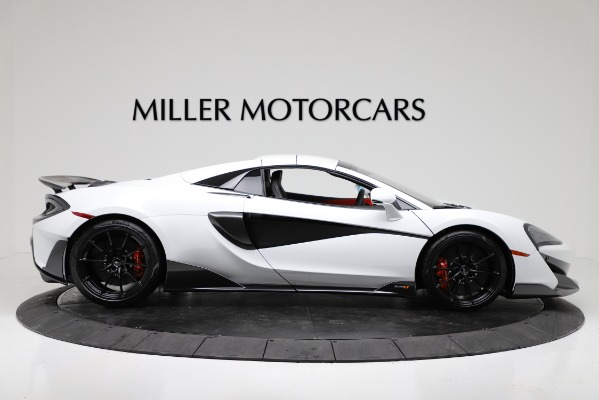 New 2020 McLaren 600LT Convertible for sale Sold at Aston Martin of Greenwich in Greenwich CT 06830 17