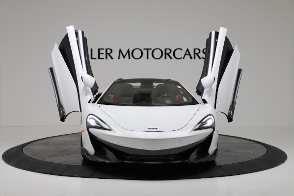 New 2020 McLaren 600LT Convertible for sale Sold at Aston Martin of Greenwich in Greenwich CT 06830 19