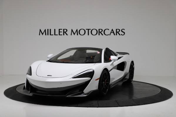 New 2020 McLaren 600LT Convertible for sale Sold at Aston Martin of Greenwich in Greenwich CT 06830 2