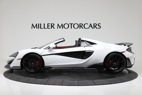 New 2020 McLaren 600LT Convertible for sale Sold at Aston Martin of Greenwich in Greenwich CT 06830 3