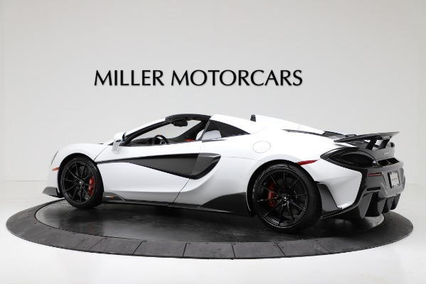 New 2020 McLaren 600LT Convertible for sale Sold at Aston Martin of Greenwich in Greenwich CT 06830 4