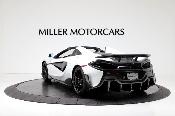 New 2020 McLaren 600LT Convertible for sale Sold at Aston Martin of Greenwich in Greenwich CT 06830 5