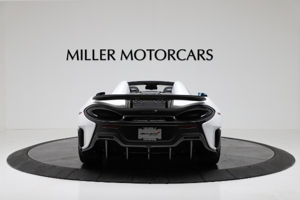 New 2020 McLaren 600LT Convertible for sale Sold at Aston Martin of Greenwich in Greenwich CT 06830 6