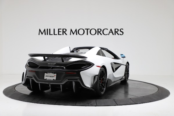 New 2020 McLaren 600LT Convertible for sale Sold at Aston Martin of Greenwich in Greenwich CT 06830 7