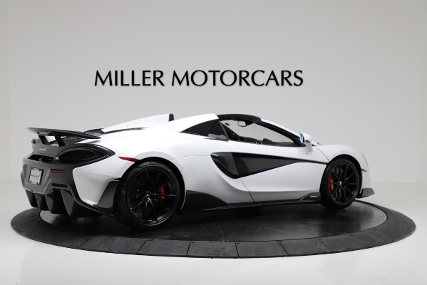 New 2020 McLaren 600LT Convertible for sale Sold at Aston Martin of Greenwich in Greenwich CT 06830 8