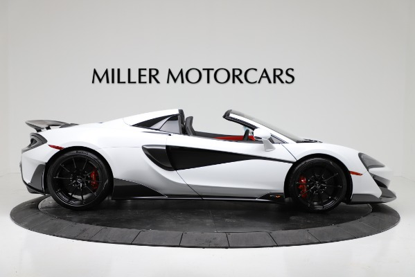 New 2020 McLaren 600LT Convertible for sale Sold at Aston Martin of Greenwich in Greenwich CT 06830 9