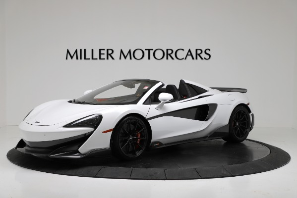 New 2020 McLaren 600LT Convertible for sale Sold at Aston Martin of Greenwich in Greenwich CT 06830 1