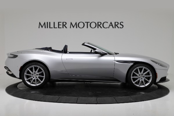 Used 2019 Aston Martin DB11 Volante for sale $209,990 at Aston Martin of Greenwich in Greenwich CT 06830 9