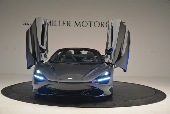 New 2020 McLaren 720s Spider for sale Sold at Aston Martin of Greenwich in Greenwich CT 06830 17