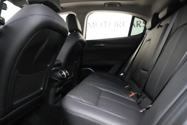 New 2019 Alfa Romeo Stelvio Ti Q4 for sale Sold at Aston Martin of Greenwich in Greenwich CT 06830 19