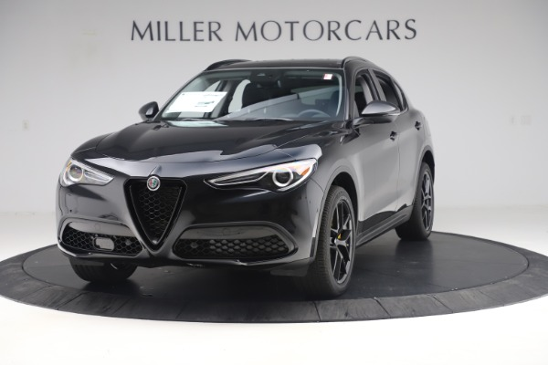 New 2019 Alfa Romeo Stelvio Ti Q4 for sale Sold at Aston Martin of Greenwich in Greenwich CT 06830 1