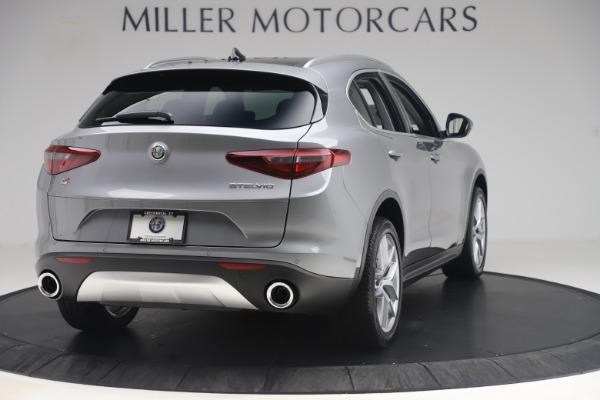 New 2019 Alfa Romeo Stelvio Ti Lusso Q4 for sale Sold at Aston Martin of Greenwich in Greenwich CT 06830 7