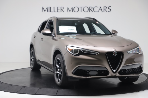 New 2019 Alfa Romeo Stelvio Ti Sport Q4 for sale Sold at Aston Martin of Greenwich in Greenwich CT 06830 11