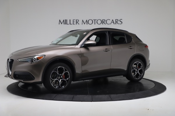 New 2019 Alfa Romeo Stelvio Ti Sport Q4 for sale Sold at Aston Martin of Greenwich in Greenwich CT 06830 2