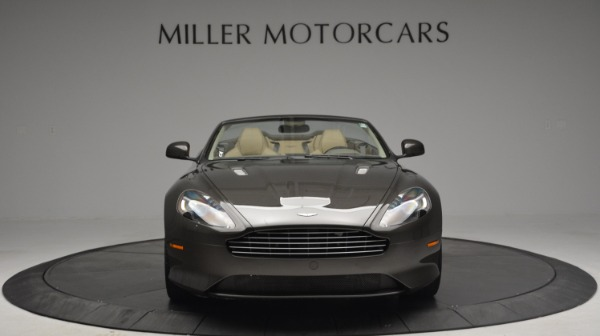 Used 2012 Aston Martin Virage Convertible for sale Sold at Aston Martin of Greenwich in Greenwich CT 06830 12