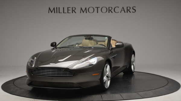 Used 2012 Aston Martin Virage Convertible for sale Sold at Aston Martin of Greenwich in Greenwich CT 06830 13