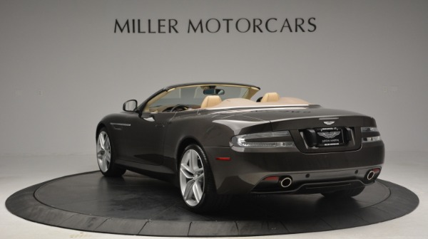Used 2012 Aston Martin Virage Convertible for sale Sold at Aston Martin of Greenwich in Greenwich CT 06830 5