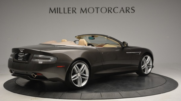 Used 2012 Aston Martin Virage Convertible for sale Sold at Aston Martin of Greenwich in Greenwich CT 06830 8