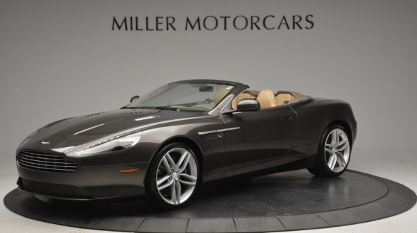 Used 2012 Aston Martin Virage Convertible for sale Sold at Aston Martin of Greenwich in Greenwich CT 06830 1