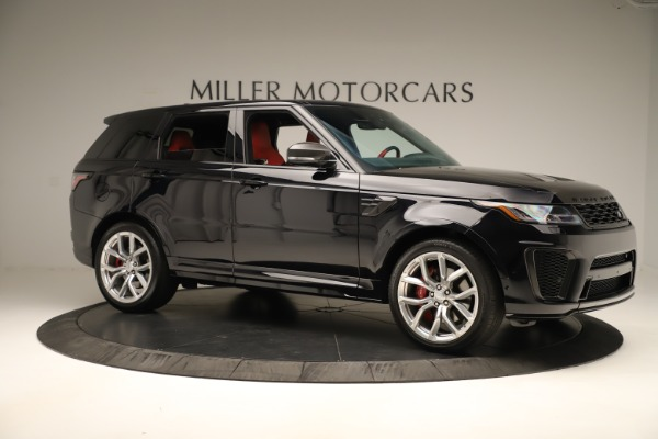 Used 2019 Land Rover Range Rover Sport SVR for sale Sold at Aston Martin of Greenwich in Greenwich CT 06830 10